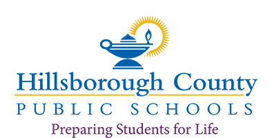 Logo for Hillsborough County Public Schools - Preparing Students for Life