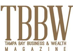 Logo for TBBW - Tampa Bay Business & Wealth Magazine